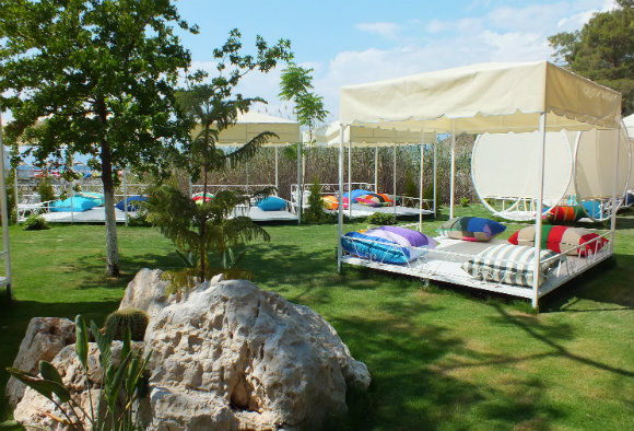 Cabanas At Kuleli Beach Club In Fethiye