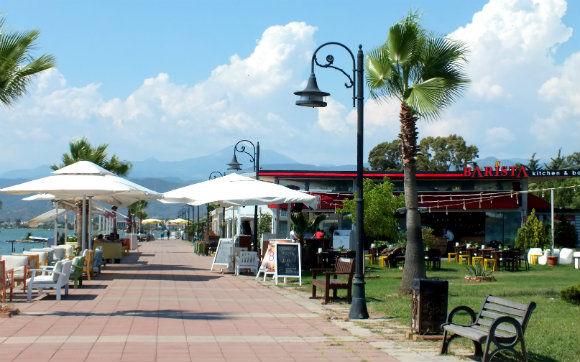 Barista Restaurant Along Fethiye Harbour