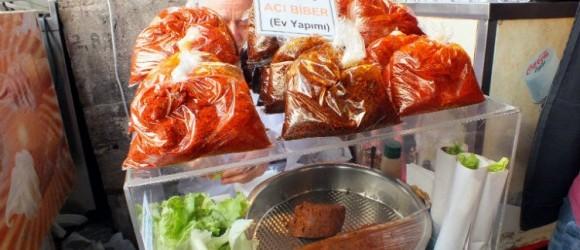 Cig Kofte Street Food In Istanbul