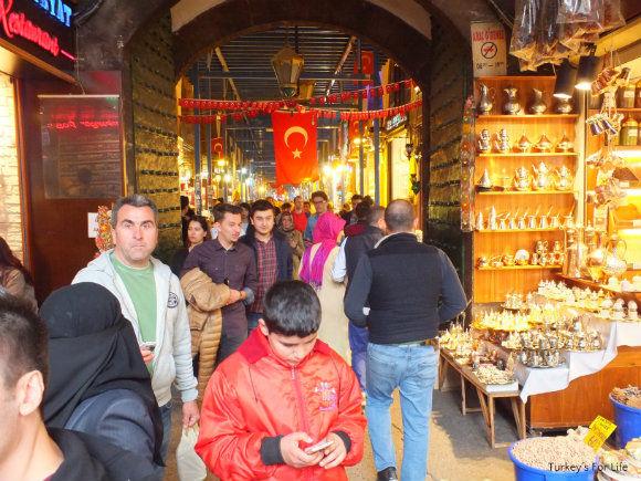Egyptian Spice Bazaar Entrance