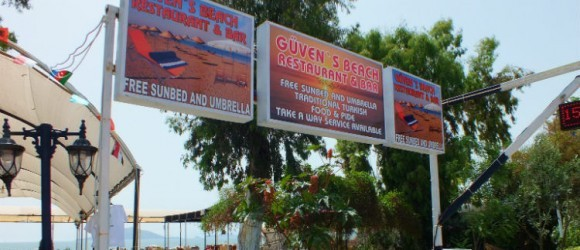 Güven's Restaurant And Bar, Çalış Beach, Fethiye