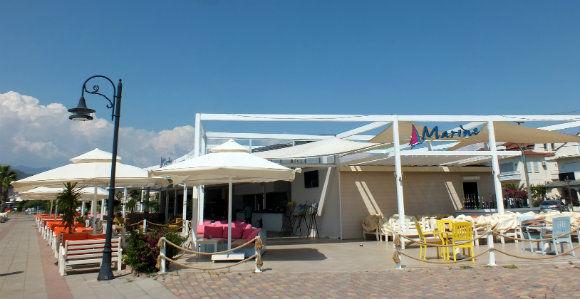 Marine Restaurant Along Fethiye Harbour