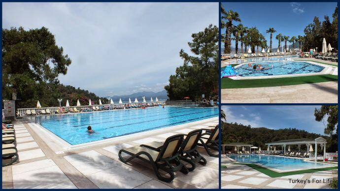 Fethiye Hotels Letoonia Swimming Pools