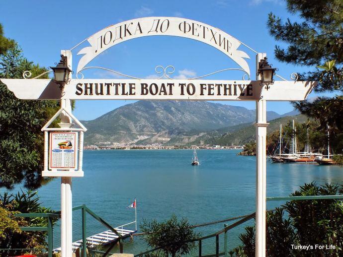Letoonia Hotel Shuttle Boat