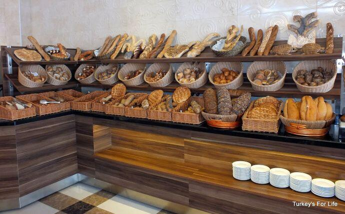 Turkish Bread, Letoonia Hotel, Fethiye