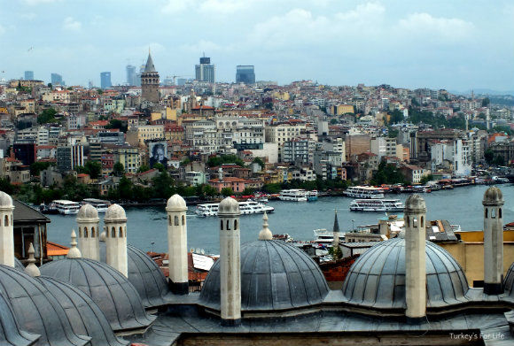 Golden Horn Views From Suleymaniye Mosque