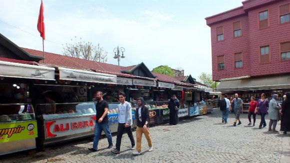 Ortaköy Kumpir Street
