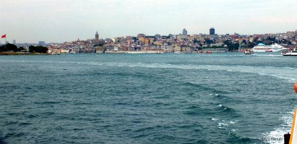 Istanbul View From The Eminönü To Kadıköy Ferry