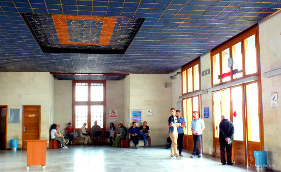 Eminönü To Kadıköy - Ferry Waiting Room