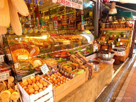 Food Shop In Kadıköy Market