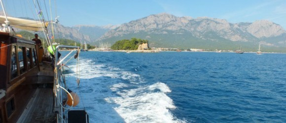 A Postcard From The Lycian Coast