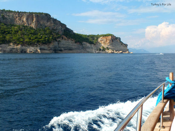 Back To Kemer On Our Gulet Cruise