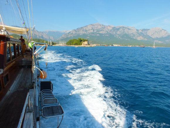 Gület Voyage Kemer to Kekova