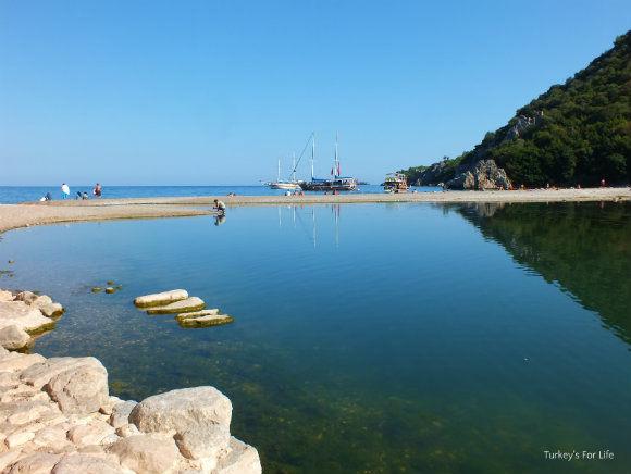 Olympos On The Gulet Cruise Turkey