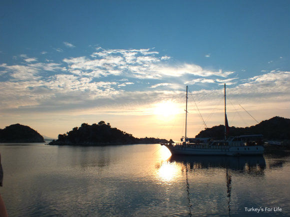 Gulet Cruise Turkey - Gökkaya Sunrise