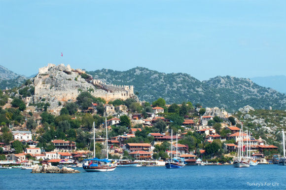 Simena On The Kemer To Kekova Blue Cruise