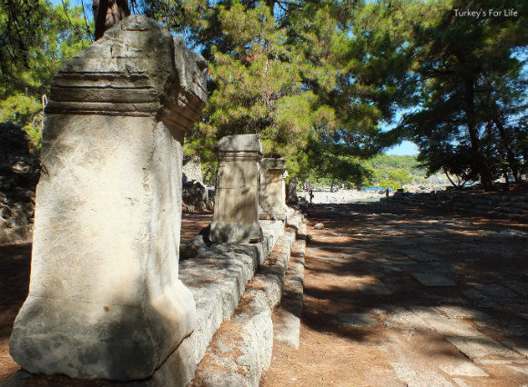 Phaselis Ruins In Antalya - The Agora