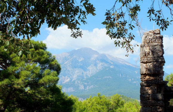 Olympos From Phaselis Theatre