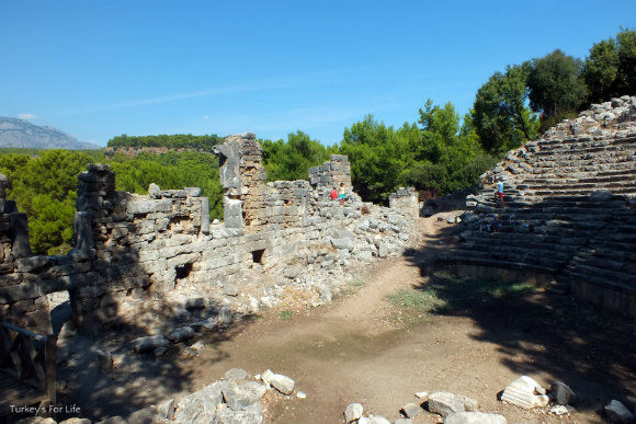 Hellenistic Theatre Of The Phaselis Ruins