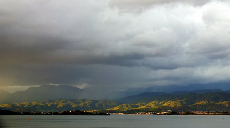 Rain In Fethiye - View From Cafe Park Teras