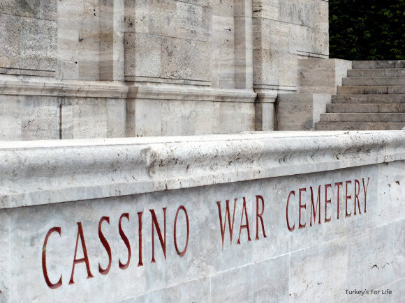 Cassino War Cemetery In Italy