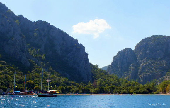 Approach To Olympos By Gulet