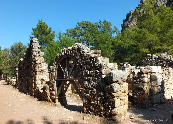 Olympos Ruins In Antalya