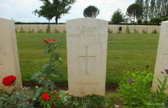 Unknown Soldier At Cassino War Cemetery In Italy
