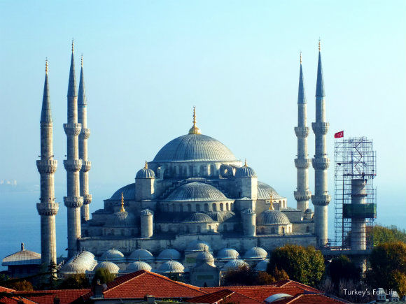 Blue Mosque From Hotel Nena In Sultanahmet