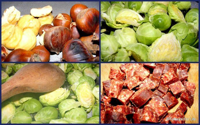 Brussels Sprouts And Sucuk