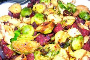 Brussels Sprouts With Sucuk