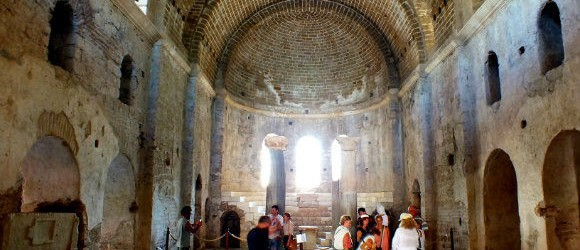Interior Of St Nicholas Church, Demre
