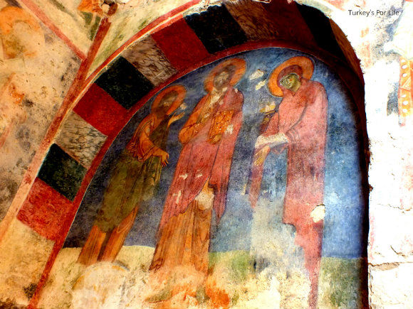Frescoes In St. Nicholas Church, Demre
