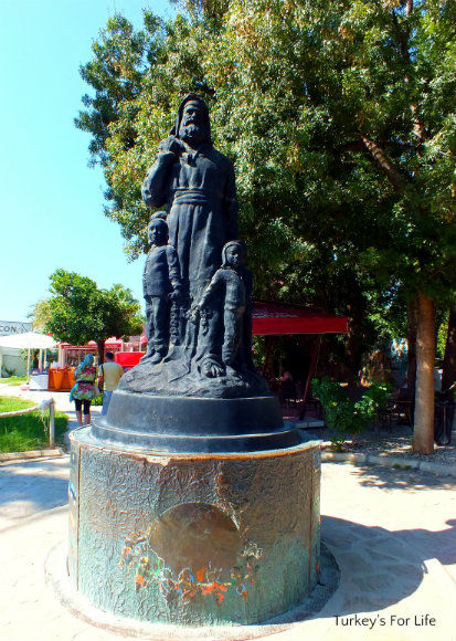 A St Nicholas Statue In Demre, Antalya