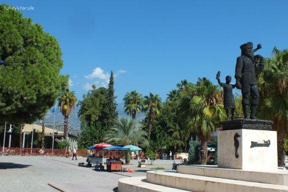St Nicholas Of Myra Statue In Demre