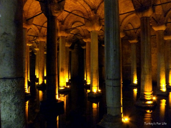 Visiting The Basilica Cistern, Istanbul • Turkeys For Life