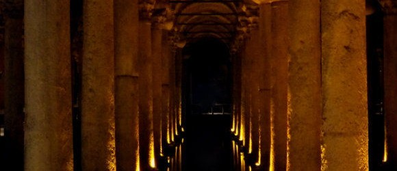 Basilica Cistern, Sultanahmet, Istanbul
