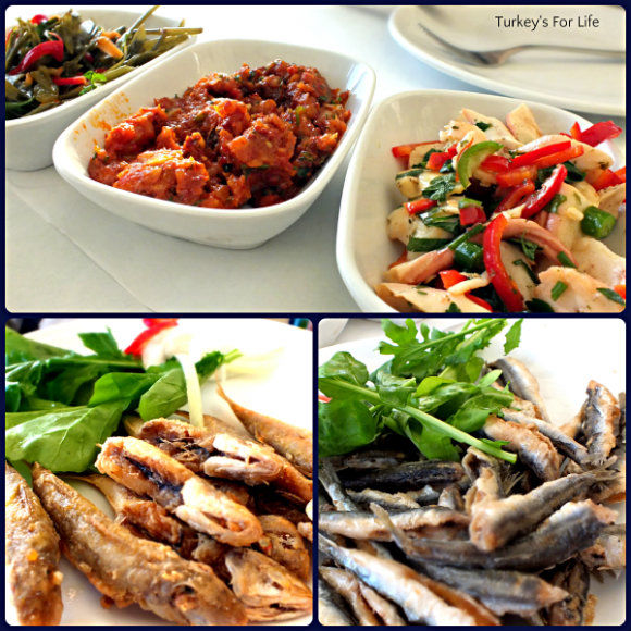 Seafood At Akın Balık, Karaköy