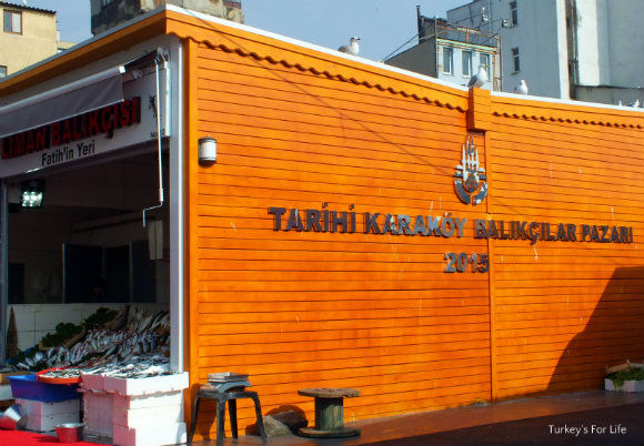 Karaköy Fish Market, Istanbul