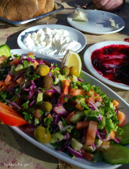 Kirkpinar Restaurant, Nif, Salad