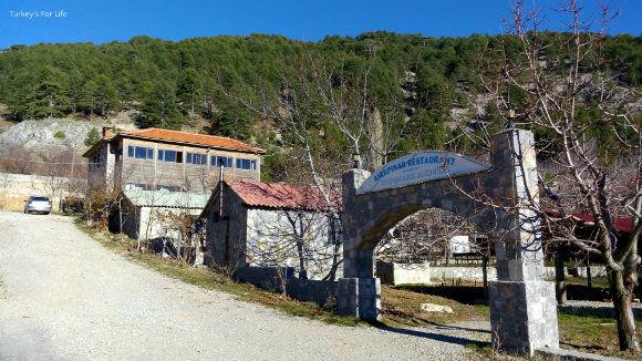 The entrance to Kırkpınar Restaurant