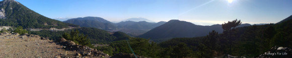 Kirkpinar Mountain Scenery