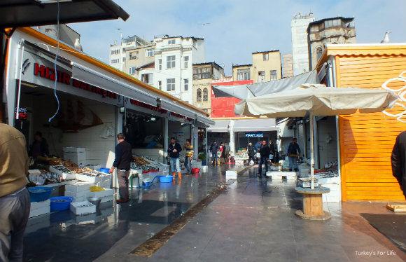 New Karaköy Fish Market In Istanbul
