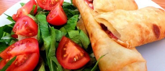 Paçanga Böreği And Salad