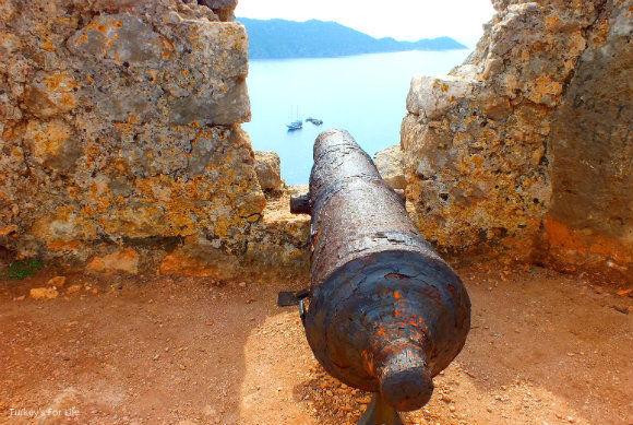 Cannon At Simena Castle