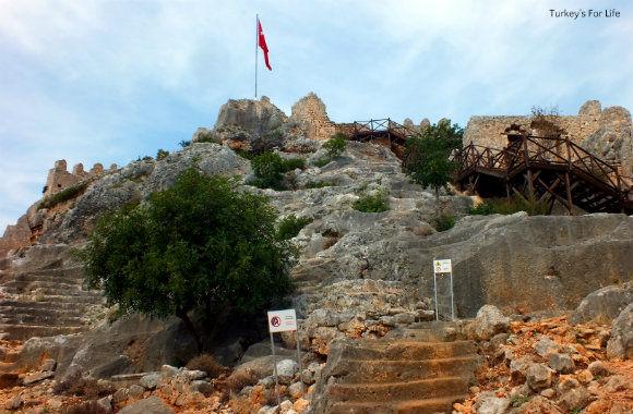 Climbing To Simena Castle
