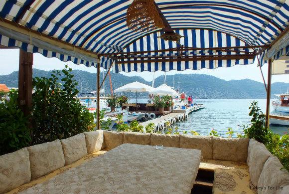 Harbourside Restaurant In Simena