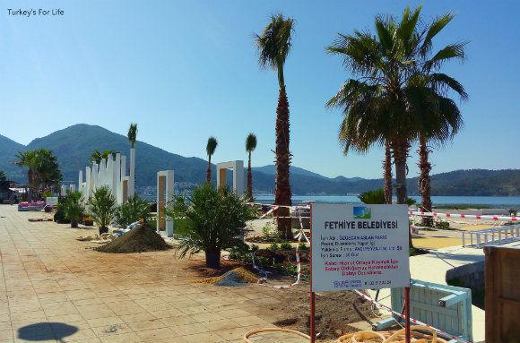 Fethiye Harbour's New Park