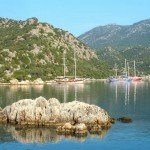 More From The Kekova Region: Sailing By The Island & Swimming At Tersane