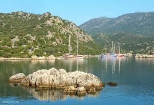 Gulets And Islets Of Gökkaya